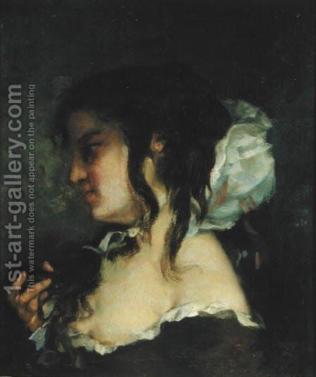 Reflection, c.1864-66 by Gustave Courbet - Reproduction Oil Painting