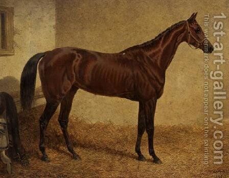 'Crucifix', Winner of the St Leger by John Frederick Herring Snr - Reproduction Oil Painting