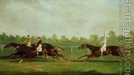 The Doncaster Gold Cup of 1835 by John Frederick Herring Snr - Reproduction Oil Painting