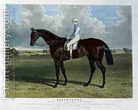 'Bloomsbury', the Winner of the Derby Stakes at Epsom, 1839 by John Frederick Herring Snr - Reproduction Oil Painting