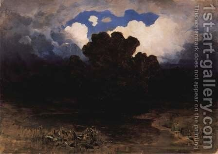 Surf and Clouds, 1882 by Arkhip Ivanovich Kuindzhi - Reproduction Oil Painting