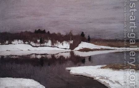 Early Spring, 1898-99 by Isaak Ilyich Levitan - Reproduction Oil Painting