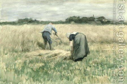 The Harvest by Anton Mauve - Reproduction Oil Painting