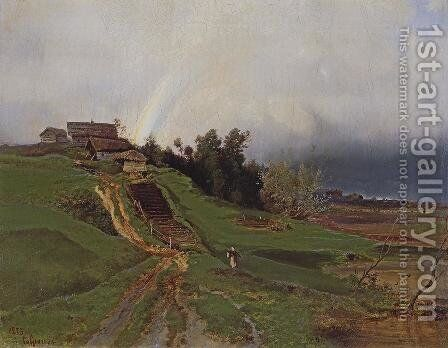 Rainbow (1873) by Alexei Kondratyevich Savrasov - Reproduction Oil Painting