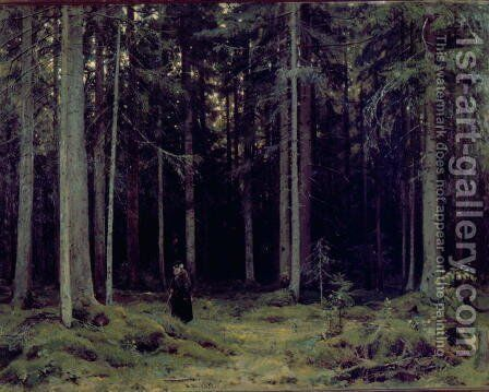 Countess Mordvinov's Forest, 1891 by Ivan Shishkin - Reproduction Oil Painting
