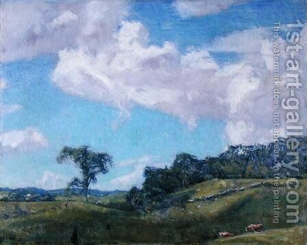 Clearing Off by Charles Harold Davis - Reproduction Oil Painting