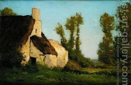 Farmhouse, 1888 by Charles Harold Davis - Reproduction Oil Painting