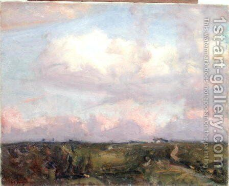 Afternoon Clouds by Charles Harold Davis - Reproduction Oil Painting