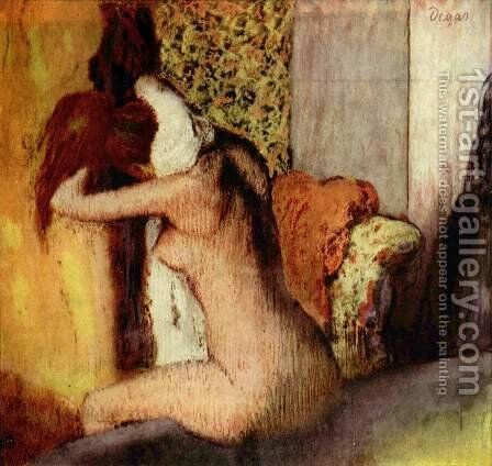 After the Bath, 1898 by Edgar Degas - Reproduction Oil Painting