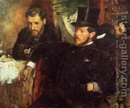 Jeantaud, Linet and Laine, 1871 by Edgar Degas - Reproduction Oil Painting