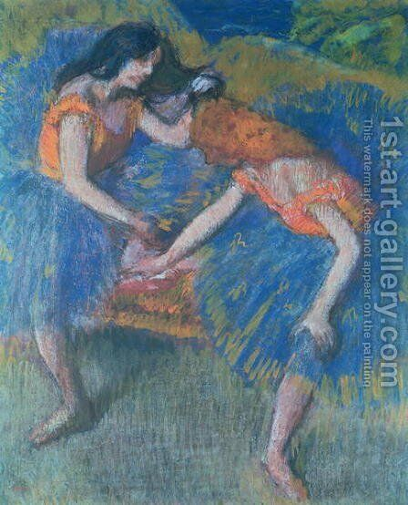 Two Dancers by Edgar Degas - Reproduction Oil Painting