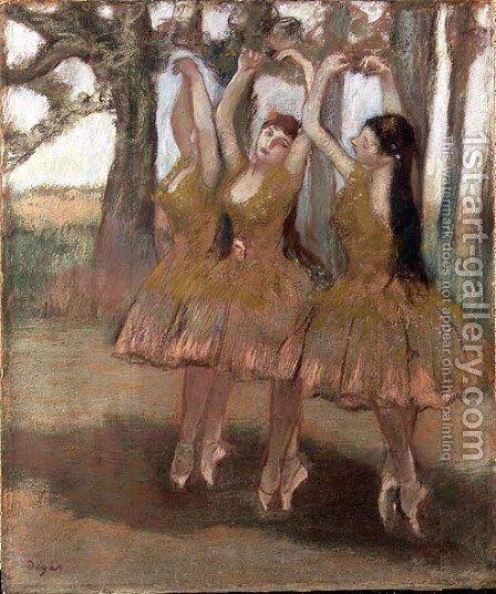 The Greek Dance, c.1881 by Edgar Degas - Reproduction Oil Painting