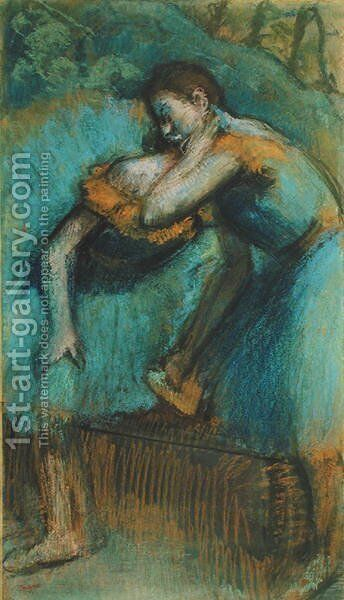 Two Dancers 2 by Edgar Degas - Reproduction Oil Painting