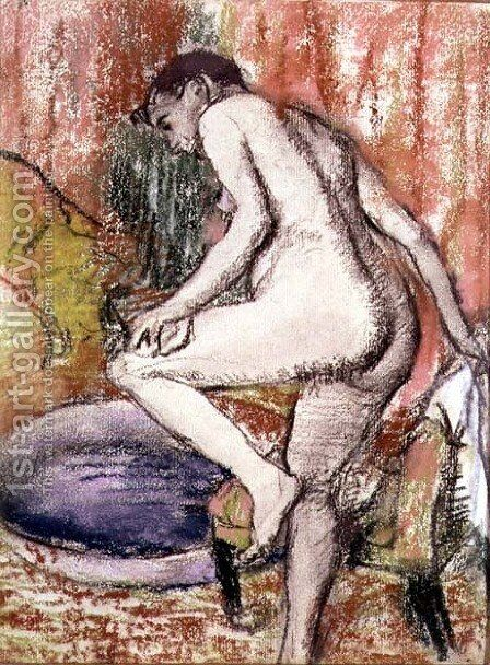 The Toilet, 1883 by Edgar Degas - Reproduction Oil Painting