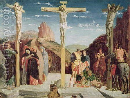 Calvary, after a painting by Andrea Mantegna (1431-1506) by Edgar Degas - Reproduction Oil Painting