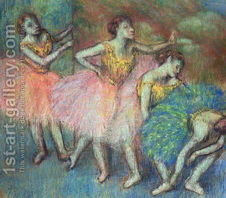 Four Dancers, 1903 by Edgar Degas - Reproduction Oil Painting