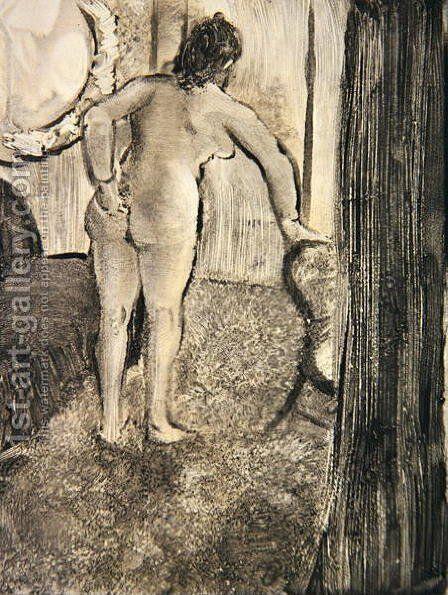 Illustration from 'La Maison Tellier' 1933 by Edgar Degas - Reproduction Oil Painting