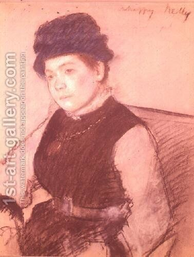 Unhappy Nelly by Edgar Degas - Reproduction Oil Painting
