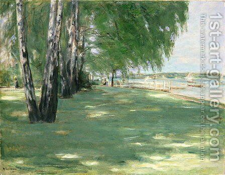 The Garden of the Artist in Wannsee, 1918 by Max Liebermann - Reproduction Oil Painting
