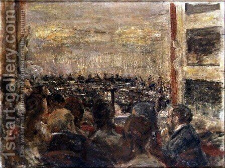 At the Opera House by Max Liebermann - Reproduction Oil Painting