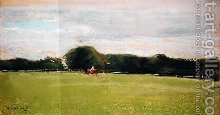 The Polo Field in Jenischs Park, 1902 by Max Liebermann - Reproduction Oil Painting