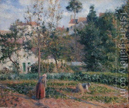 Prime Vegetable Garden At The Hermitage Pontoise 1879 Download Free Architecture Designs Jebrpmadebymaigaardcom