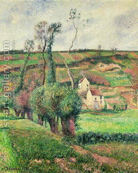 The Cabbage Slopes, Pontoise, 1882 by Camille Pissarro - Reproduction Oil Painting