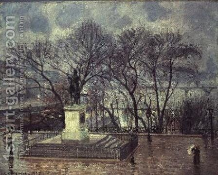 The Pont Neuf, Paris, 1902 by Camille Pissarro - Reproduction Oil Painting