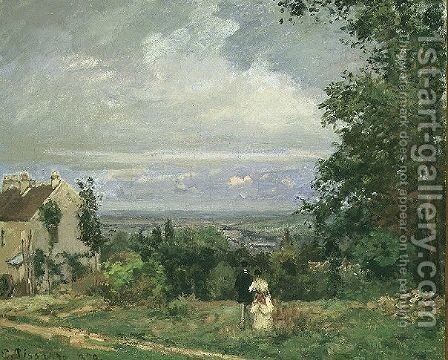 Louveciennes, 1870 by Camille Pissarro - Reproduction Oil Painting