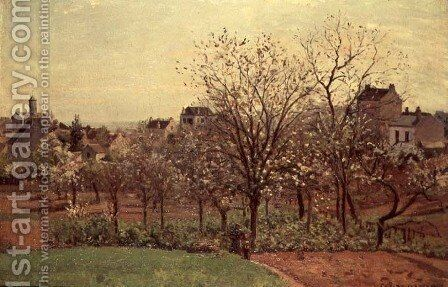 The Orchard, 1870 by Camille Pissarro - Reproduction Oil Painting