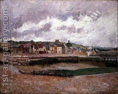Dieppe, the Duquesne Basin, 1902 by Camille Pissarro - Reproduction Oil Painting