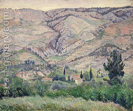 Le Ragas, near Toulon, c.1930 by Camille Pissarro - Reproduction Oil Painting
