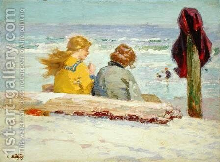 The Chaperones, 1910-15 by Edward Henry Potthast - Reproduction Oil Painting
