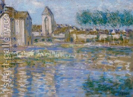 Moret-sur-Loing, c.1890 by Alfred Sisley - Reproduction Oil Painting