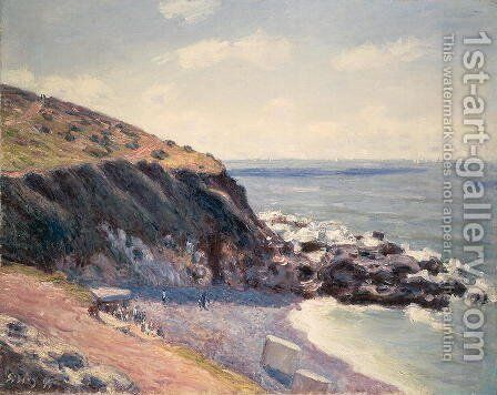 Morning, Lady's Cove, Langland Bay, 1891 by Alfred Sisley - Reproduction Oil Painting