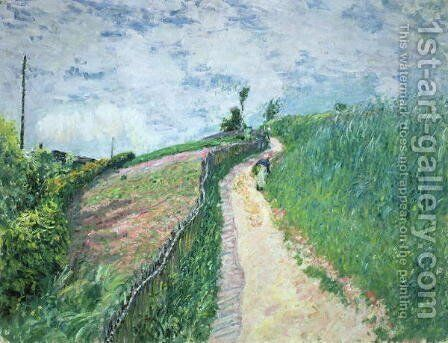 Path Leading to Ville D'Avray, 1879 by Alfred Sisley - Reproduction Oil Painting