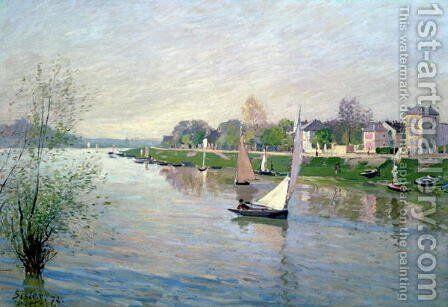The Seine at Argenteuil, 1872 by Alfred Sisley - Reproduction Oil Painting