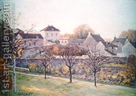 The Last Ray of Sun, 1873 by Alfred Sisley - Reproduction Oil Painting