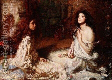 The Toilet, 1896 by Henry Tonks - Reproduction Oil Painting