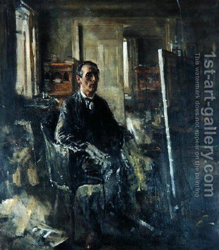 Walter Westley Russell by Henry Tonks - Reproduction Oil Painting