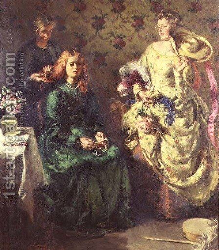 Rustic Pageantry, c.1908 by Henry Tonks - Reproduction Oil Painting