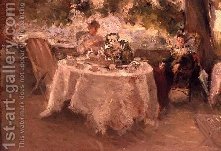 The Tea Party by Henry Tonks - Reproduction Oil Painting