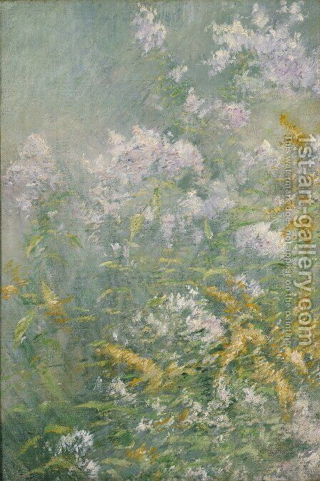 Meadow Flowers (Golden Rod and Wild Aster), c.1892 by Henry Tonks - Reproduction Oil Painting
