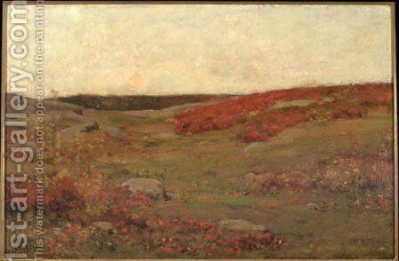 Sunrise, Autumn, c.1885 by Childe Hassam - Reproduction Oil Painting