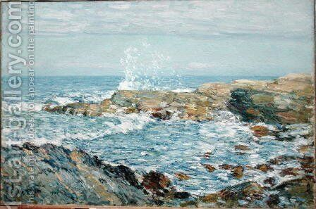 Isle of Shoals, 1906 by Childe Hassam - Reproduction Oil Painting
