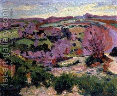 Valley of the Sedelle, 1916 by Armand Guillaumin - Reproduction Oil Painting