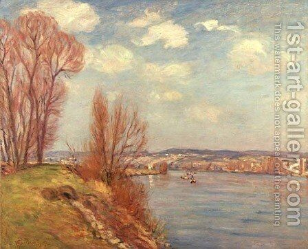 The Bay and the River, 1901 by Armand Guillaumin - Reproduction Oil Painting