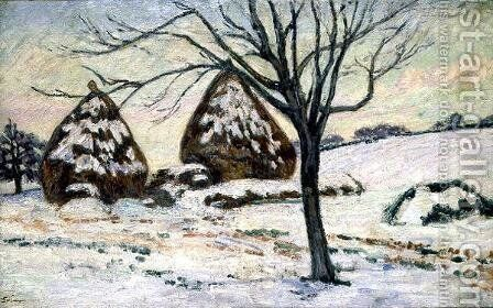 Winter Light by Armand Guillaumin - Reproduction Oil Painting