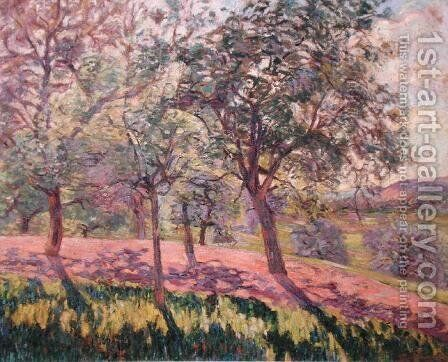 The Region of Saint Cheron, Springtime, c.1886 by Armand Guillaumin - Reproduction Oil Painting