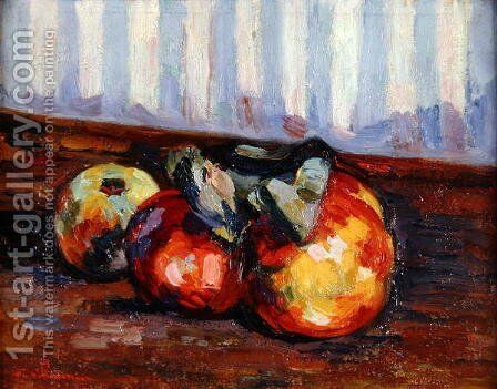 Still Life, c.1885 by Armand Guillaumin - Reproduction Oil Painting